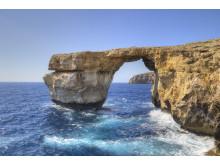 Gozo - Det blå vinduet i Dwerjra