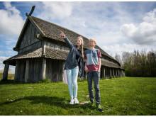 Børn på Trelleborg