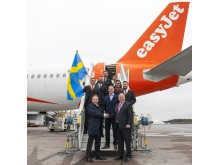 easyJet på Stockholm Arlanda