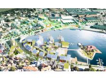 Nytt bostadsområde Oskarshamns hamn