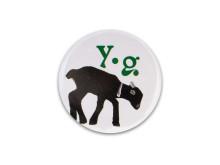 Yoga Girl Penny the goat badge