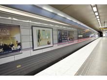 Station med tåg