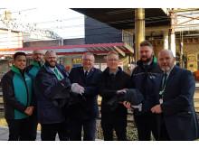 Crewe uniform handover