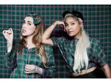 Anna Gyllenklev och Helen Silvander, medgrundare och projektledare Moving Art Project. Foto: Erika Rodin