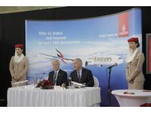 Pressekonferanse - åpning av Emirates rute Oslo - Dubai