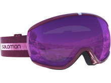 Salomon Ivy Goggles dam_beet red univ ruby