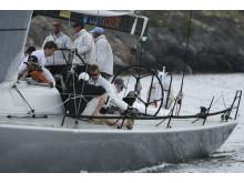 MOB säkerhetslina i segelbåt