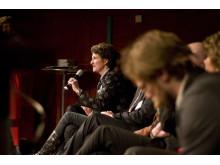Professor Mef Nilbert i debatt om cencerprevention på Världscancerdagen 2010