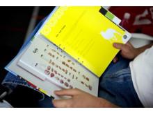 Styckningsscheman i utbildningspärmen
