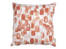 Cushion KAMILLE 45x45 brushstrokes coral (99 DKK)