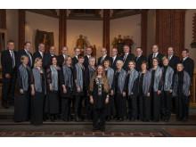 Sundsvalls kyrkokör - deltar i återinvigningen av S:t Olavsleden