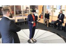 Ebba Busch Thor i Videum VR