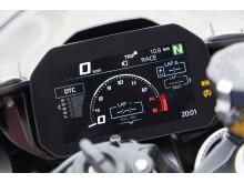 BMW S 1000 RR kombiinstrument med 6.5 tommer TFT-skærm i fuldfarve