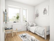 Brf Sundby Äng - 3D-bild av sovrum