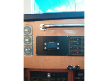 Image - Fischer Panda UK - The control panel for the Panda PMS 19i installed on a Tarquin 20m
