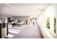 Danderyds sjukhus - ny akutvårdsbyggnad - plan 3 (bild och funktion)