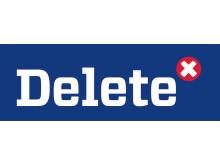 Delete-logga