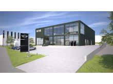 Bavaria bygger MINI Flagship Store i Danderyd