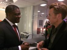 Dr Mukwege gästar Skavlan oktober 2014