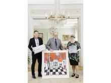 Värmlands gåvor till Prins Carl Philip och Fröken Sofia Hellqvist (stående bild)