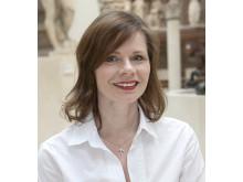 Helen Persson, chef Center för Dräkt och mode, Nordiska museet. Foto Nordiska museet.