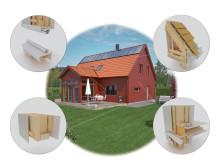 Villa Solgläntan - Tekniska lösningar