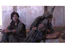 IRAK – I Sinjar kämpar både kvinnor och män i motrörelsen för att befria sig från IS sedan november 2014.