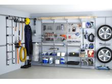 Elfa Utility, smart förvaring för garaget