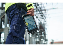 The ALGIZ RT8 rugged tablet is perfect for utility workers