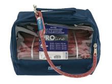 PolyRopes PROline - grå/röd i väska