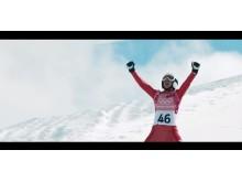 Kampania reklamowa Visa na Zimowe Igrzyska Olimpijskie PyeongChang 2018 - screen ze spotu_Kamil Stoch