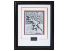 Memorabilia Sportlegender 5/6, Nr: 11, FOTOGRAFI, Jesse Owens, med autograf