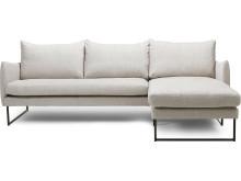 New York 2-sits soffa med divan