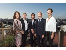 Foto nyckelpersoner för projektet