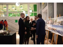 Hertigparet av Cambridge besökte ArkDes