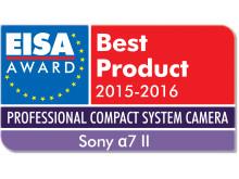 EISA award Sony a7 II