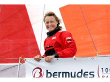 Pip Hare on the Bermudes 1000 race