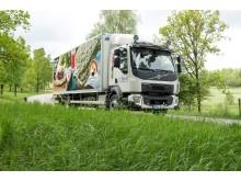 Lastbil Polfärskt