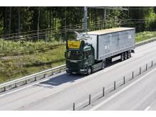 Bild på elvägen (eHighway) på E16 (webb)
