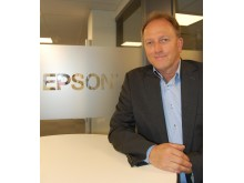 Tor Arne Moe, National Sales Manager i Epson Norge