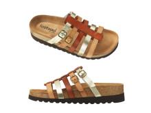 Sandal i skinn