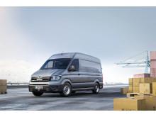 MAN TGE er helt nyudviklet i samarbejde med MANs moderselskab, Volkswagen, som også markedsfører den under navnet VW Crafter