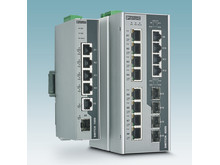 Robuste Power over Ethernet (PoE) switche