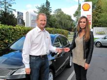 Tankede sig til ny bil hos Shell