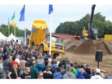 Volvo Baumaschinen live und in Aktion: Swecon Baumaschinen auf der Nordbau
