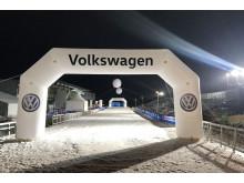 0-100 på skidor – i helgen arrangeras Supersprinten utanför Bernes Volkswagen-anläggning i Östersund.