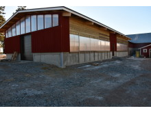 The new calf barn that was put into use earlier this year.