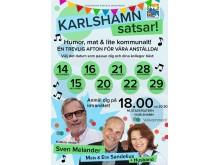 Karlshamn satsar affisch