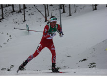 Aslak Nenseter i løypa, normalprogram menn, Junior-VM Minsk