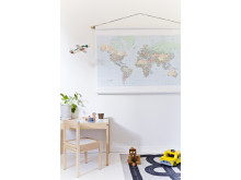 Kids room - map - Photowall
